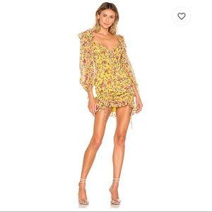 For Love & Lemons Beaumont Mini Dress